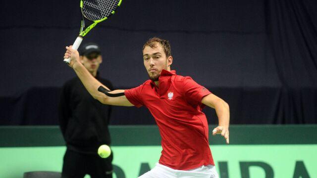"""Polska zagra w Pucharze Davisa bez publiczności. """"Potencjalne zagrożenie epidemiologiczne"""""""