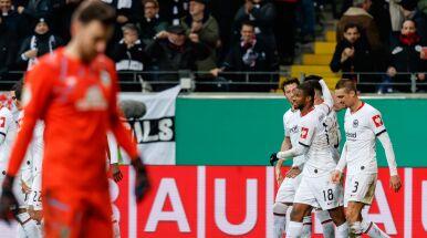 Werder bezradny we Frankfurcie. Eintracht czwartym półfinalistą