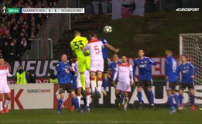 Asysta bramkarza, gol dla Fortuny. Dogrywka w ćwierćfinale Pucharu Niemiec