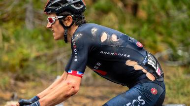 Po upadku wycofał się z Giro.