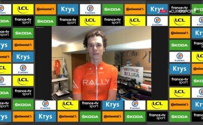 Dal-Cin po wygraniu 3. etapu Wirtualnego Tour de France