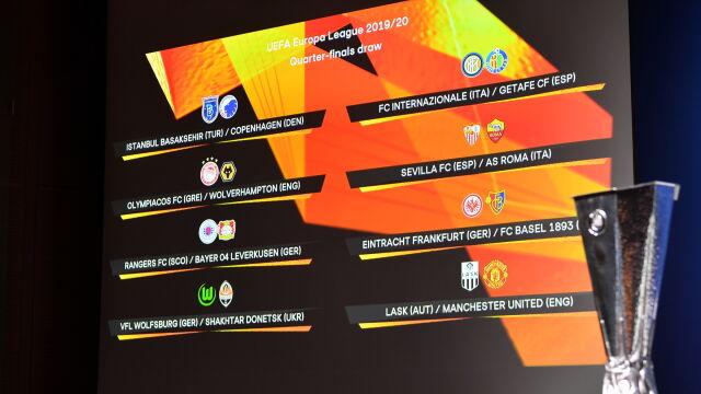 Liga Europy rozlosowana. Możliwa niemiecka konfrontacja w ćwierćfinale