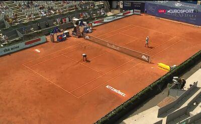 Bautista-Agut wygrał pierwszego seta w półfinale Thiem's 7