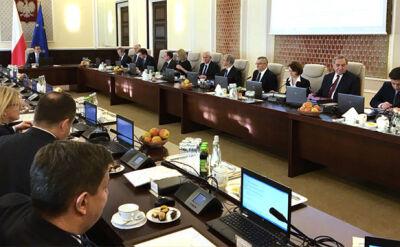 Trwa pierwsze posiedzenie rządu w nowym składzie