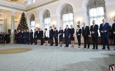 Rozpoczyna się uroczystość w Pałacu Prezydenckim