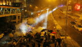 Starcia na kampusie politechniki w Hongkongu