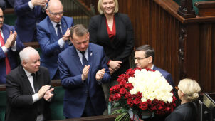 The Sejm gives PM Morawiecki's new cabinet vote of confidence
