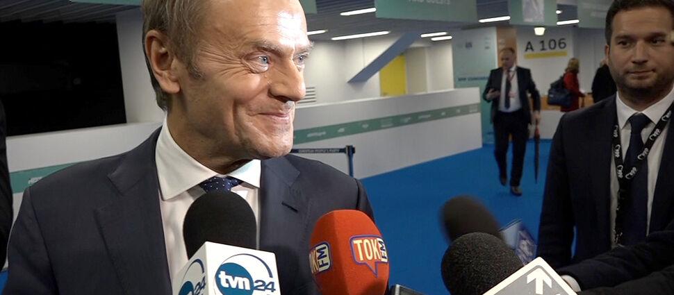 """Tusk żegna się z polską polityką?  """"Wręcz przeciwnie"""""""