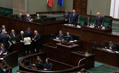 Dwa wnioski po anulowanym głosowaniu. Jeden do prokuratury, drugi o odwołanie marszałek Witek