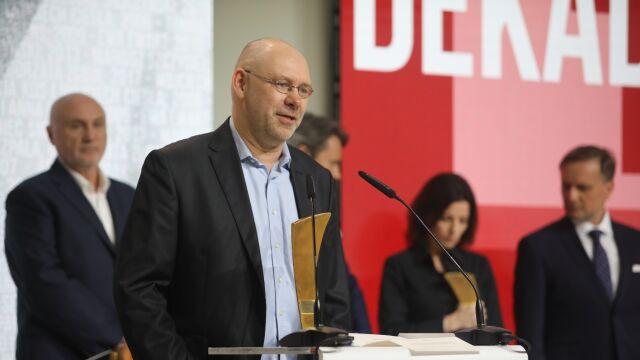 Przemówienie Pawła Reszki po odebraniu nagrody