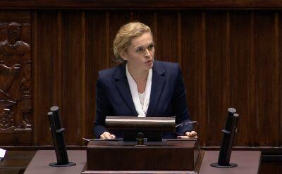 Nowacka: można by pomyśleć, że mamy premiera wizjonera i marzyciela