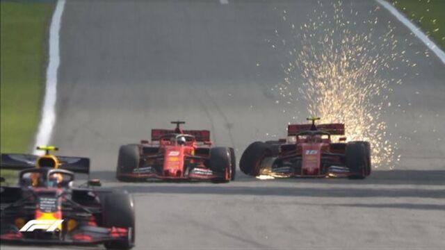 """Kierowcy Ferrari wezwani na dywanik. """"To się nie może powtórzyć"""""""