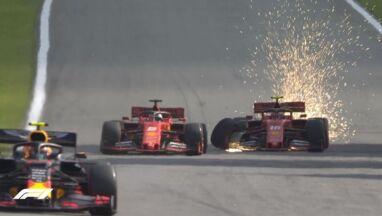 Kierowcy Ferrari wezwani na dywanik.
