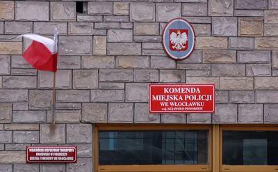 Policjanci z komendy we Włocławku nagrali półnagą kobietę