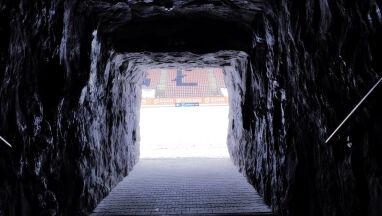 W tunelu odtworzyli klimat kopalni. Zagłębie jak Schalke