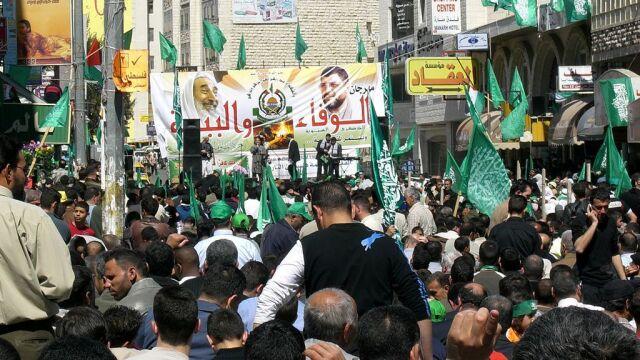 """""""Kampania aresztowań i przemoc"""". ONZ potępia represje Hamasu podczas demonstracji"""
