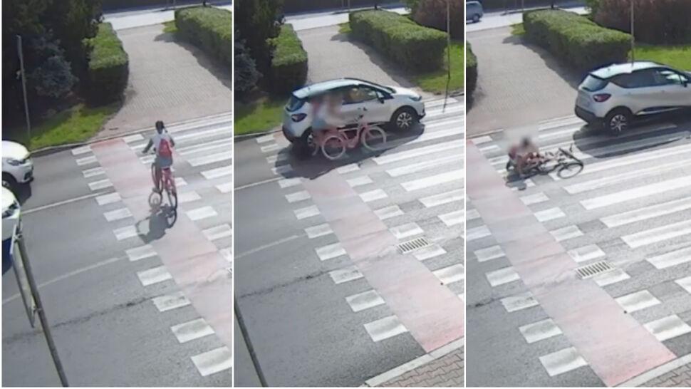 Na przejeździe dla rowerów potrącił 11-latkę. Stracił prawo jazdy, sprawa trafi do sądu