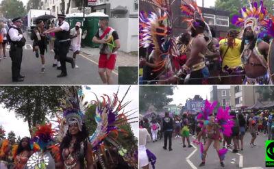 """Policjant tańczył podczas Notting Hill Carnival. """"Było mnóstwo ludzi, fantastyczna zabawa"""""""