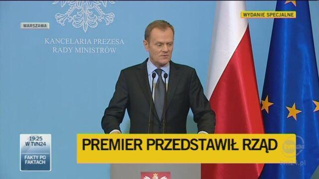 Jarosław Gowin ministrem sprawiedliwości (TVN24)