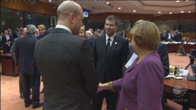 Szczyt w Brukseli (Reuters, APTN)