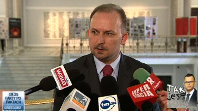 Poseł Węgrzyn jest znany z kontrowersyjnych wypowiedzi