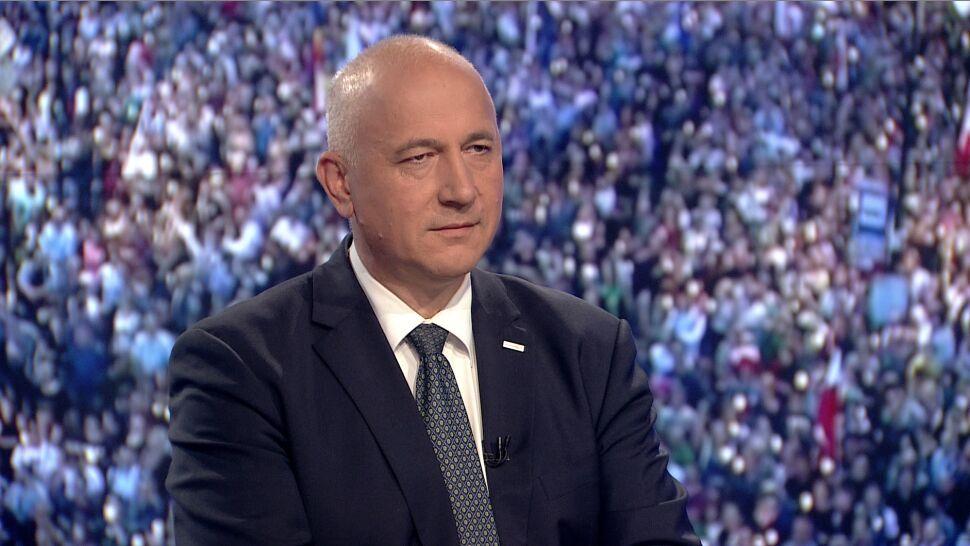 """""""Kłócili się"""". Minister Brudziński tłumaczy, dlaczego manifestanci zostali spisani"""