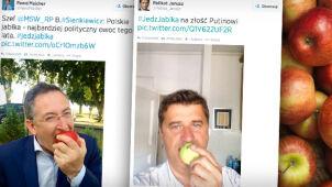 """Oni też jedzą jabłka """"na złość Putinowi"""""""
