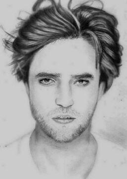 Portret Roberta Pattinsona