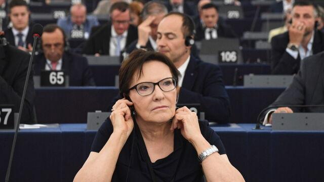 Ewa Kopacz wiceprzewodniczącą Parlamentu Europejskiego. Krasnodębski przepadł