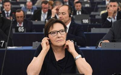 Ewa Kopacz wiceprzewodniczącą Europarlamentu