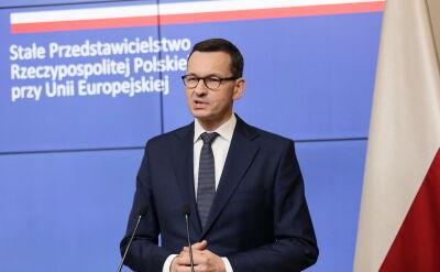 Morawiecki o unijnych stanowiskach: nowe czasy, nowe idee, nowe otwarcie dla Europy