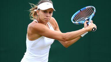 Waleczna Linette po raz pierwszy w drugiej rundzie Wimbledonu