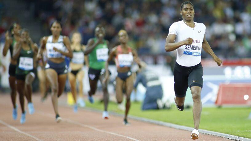Caster Semenya powalczy o igrzyska na nowym dystansie.