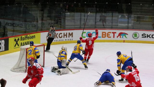 Drugi mecz, drugi pogrom. Polscy hokeiści błyszczą