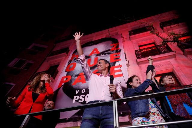 Socjaliści wygrywają w Hiszpanii