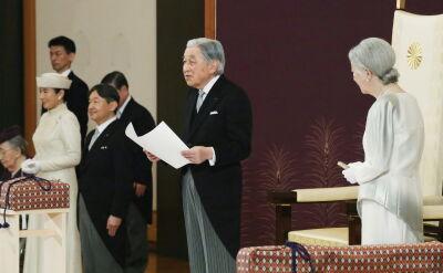 Cesarz Akihito formalnie abdykował