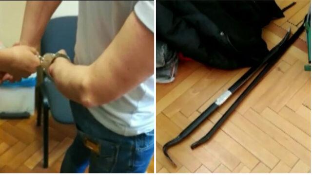 Pięć nieudanych włamań do bankomatów i wpadka w ręce policji