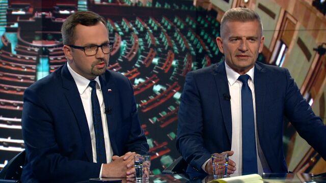 """Marcin Horała i Bartosz Arłukowicz w """"Faktach po Faktach"""""""