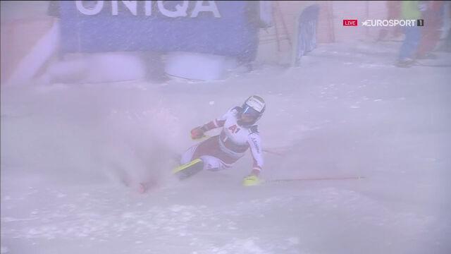 Feller nie ukończył 2. przejazdu slalomu w Schladming