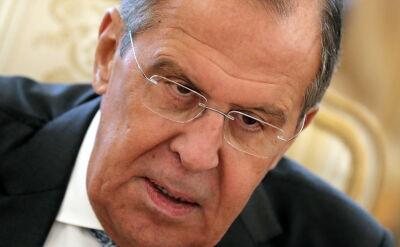 """Ławrow: USA wspierają prowokację """"raskolników"""" na Ukrainie"""