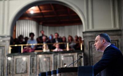 Prezydent krytycznie o procesie integracji europejskiej