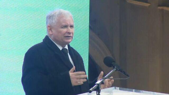 Kaczyński: przebaczenie po wymierzeniu kary