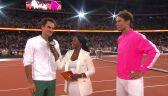 Roger Federer i Rafa Nadal po Match for Africa