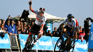 Drugi etap i koszulka lidera Volta a la Comunitat Valenciana dla Pogacara