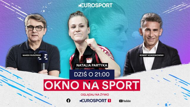 """Natalia Partyka w środowym """"Oknie na Sport"""""""