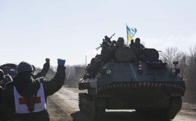 Odwrót Ukraińców z rejonu debalcewskiego to fiasko porozumienia z Mińska