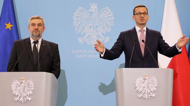 Morawiecki o odwołanym spotkaniu prezydiów Sejmu i Bundestagu