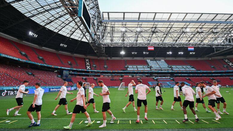 Czwartek na Euro 2020. Hity w Kopenhadze i Amsterdamie