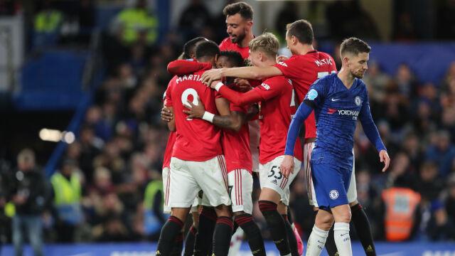 VAR i skuteczność Manchesteru United pogrążyły Chelsea w hicie ligi angielskiej