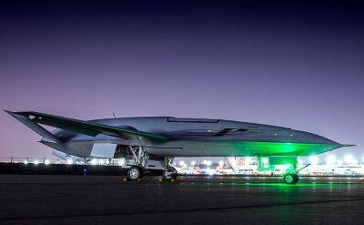 Prototyp drona MQ-25 firmy Boeing